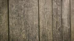 Vintage wood planks Stock Footage