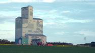 Prairies Grain Elevator Stock Footage
