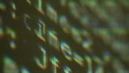 Program code, c++ language Stock Footage