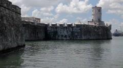 Old fortress San Juan de Ulúa Stock Footage