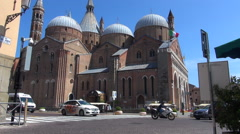 Basilica of Saint Anthony of Padua Stock Footage