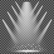 Concert Lighting. Stage Spotlights Background Stock Illustration