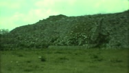 1973: an incredible trip to the fantastic and ancient oriental ruins MEXICO Stock Footage