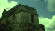 1973: it looks like very old temple MEXICO Stock Footage