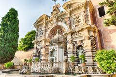 The Fountain of the Organ, Villa d'Este, Tivoli, Italy Stock Photos