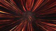 Lava tunnel. Journey to hell. Stock Footage