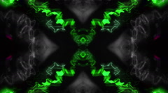 RGB kaleidoscope in action Stock Footage