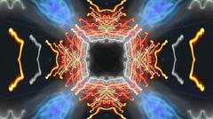 Super kaleidoscopic loop Stock Footage