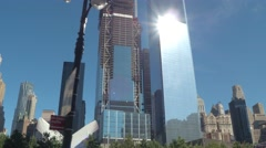 World Trade Center New York Stock Footage