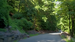 Henry Hudson Drive Fort Lee New Jersey Stock Footage