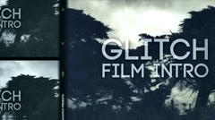 Glitch Film Intro Kuvapankki erikoistehosteet