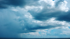 Florida storm Time lapse Stock Footage