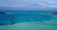 Coral Reef Lagoon Stock Footage