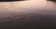 Sunrise on the Savannah River Stock Footage
