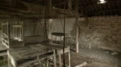 Abandoned creepy room Stock Footage