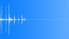 Plastic cap fall on hard floor 0002 Sound Effect