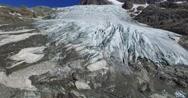 Glacier - Aerial view Stock Footage