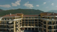 Top View of Tivat city in Montenegro, 4k Stock Footage