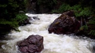 River in mountains Stock Footage