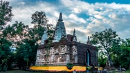 Time lapse Ched Yod Temple. Stock Footage