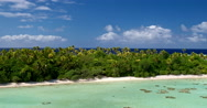 Tropical Island in South Pacific Stock Footage