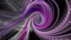 Romantic animation with particle stripe object in motion, 4096x2304 loop 4K Stock Footage