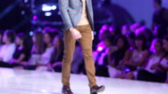 Sofia Fashion Week male Stock Footage