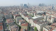 City İstanbul Turkey drone Stock Footage