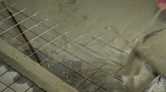 Construction work site. Stock Footage