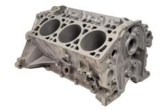 Internal combustion engine after powder coating Stock Photos