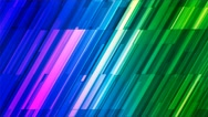 Broadcast Twinkling Slant Hi-Tech Bars, Multi Color, Abstract, Loopable, 4K Stock Footage