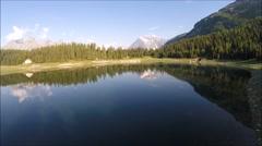 Lago Palù - Valmalenco Stock Footage