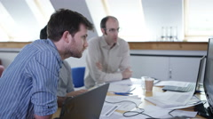 4K Real group at business seminar working together & learning new skills Stock Footage