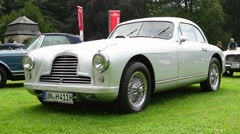 Aston Martin DB2 classic British sports car Stock Footage