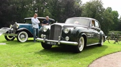 Bentley S2 Continental by H.J. Mulliner 1959 vintage classic car Stock Footage