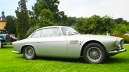 Maserati A6G 2000 by Allemano classic Italian sports car Stock Footage
