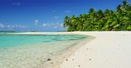 Tropical Island Paradise Stock Footage
