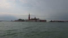 Venice Grand Canal, tourist pov view from waterbus Stock Footage