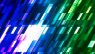 Broadcast Twinkling Slant Hi-Tech Small Bars, Multi Color, Abstract, Loop, 4K Stock Footage
