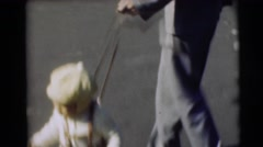 1967: baby on the road is active and doing nasty things with her mother CAMDEN, Stock Footage