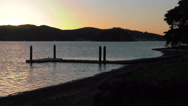 Russell, Bay of Islands, New Zealand, Beaches, Coast, waterways and boats Stock Footage