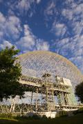 Montreal Biosphere a geodesic dome originally built as US pavillion at Expo 67, Kuvituskuvat