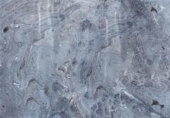 Abstract background. Ink marbling texture. Grey and white. Hand drawn marble Stock Illustration