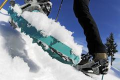 Snowshoeing on Hollyburn Mountain, Cypress Provincial Park, West Vancouver, Stock Photos