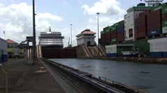 Panama Canal Time Lapse Stock Footage