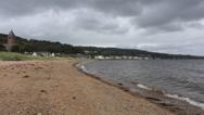1291-5850-lamlash-beach-TL9p Stock Footage