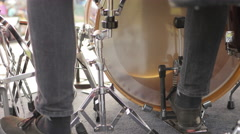 Music Festival Concert, Kick Drum Stock Footage