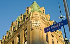 Historic office building on the corner of Elgin and Sparks streets in Ottawa, Kuvituskuvat