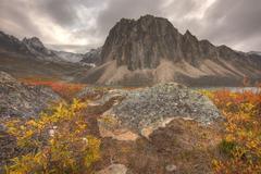 Talus Lake, Tombstone Territorial Park, Yukon, Canada Stock Photos