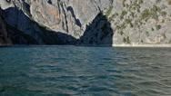 Sahinkaya Canyon near to Vezirkopru district, Samsun city, Turkey Stock Footage